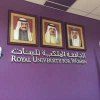 Photo taken at Royal University For Women (RUW) by Mohammed A. on 3/14/2017