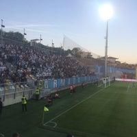 Photo taken at Stadion NK Rijeka | Rujevica by Davor F. on 4/21/2018