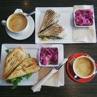 Photo taken at Café Santé Veritas by Zoe M. on 3/28/2016