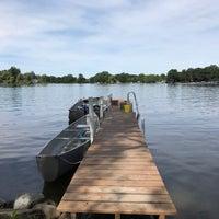 Photo taken at Scram Lake by Benjamin E. on 8/13/2017