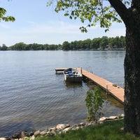 Photo taken at Scram Lake by Benjamin E. on 5/28/2018