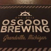 Photo taken at Osgood Brewing by Benjamin E. on 10/24/2017