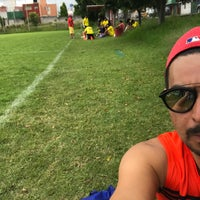 Photo taken at Canchas UPAEP by Adolfo P. on 10/8/2017