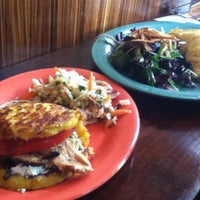 Photo taken at Pica Pica Arepa Kitchen by Carla E. on 4/28/2013