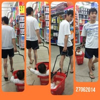Photo taken at Carrefour by May S. on 6/27/2014