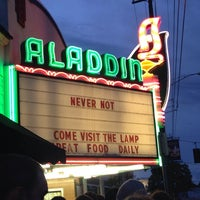 Photo taken at Aladdin Theater by Shara A. on 9/21/2013