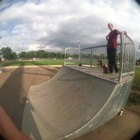 Photo taken at Ebt Skatepark by Soupa K. on 3/9/2015