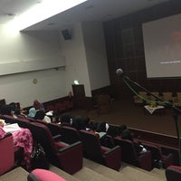 Photo taken at Auditorium Perpustakaan Sultanah Nur Zahirah, UMT by syafieq f. on 9/7/2016