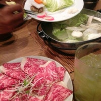Photo taken at Tazu Shabu-Yaki by Wutwut G. on 1/26/2013