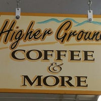 Photo taken at Higher Ground Coffee and More by Scott A. on 3/4/2015