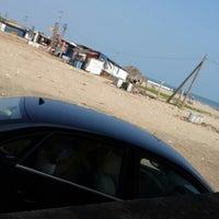 Photo taken at antarvedi beach by Avinash B. on 4/22/2014