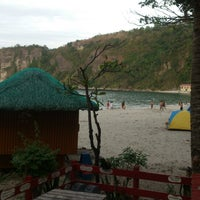 Photo taken at Marine Base Ternate Beach Resort by Juju A. on 2/15/2015