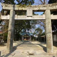 Photo taken at 現人神社 by t0rand b. on 3/15/2014