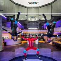 Photo taken at Airspace Indoor Skydiving by Airspace Indoor Skydiving on 3/5/2015