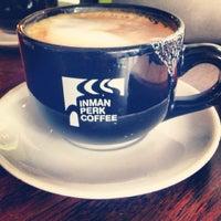 Photo taken at Inman Perk Coffee by Julian G. on 7/4/2013