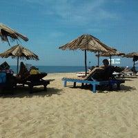 Photo taken at Candolim Beach by Denis B. on 12/23/2012