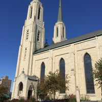 Photo taken at Cathedral of the Immaculate Conception by Lee T. on 10/14/2016