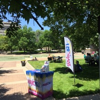 Photo taken at Freimann Square by Lee T. on 6/1/2017