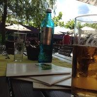 Photo taken at Gasthaus Strandcafé by Julian F. on 7/6/2014