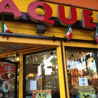 Photo taken at Taqueria Los Coyotes by Daniel M. on 10/3/2012