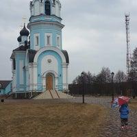 Photo taken at Храм святителя Николая Чудотворца by Anastasia K. on 4/13/2014