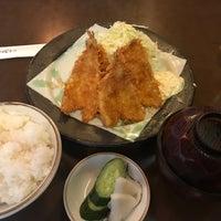 Photo taken at とんかつ万喜 by Akihisa C. on 8/29/2017