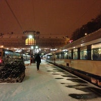 Photo taken at Gare de Verviers-Central by Valentin T. on 1/15/2013