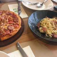 Photo taken at The Pizza Company by surattana k. on 7/21/2017