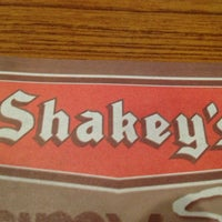 Photo taken at Shakey's by Denise Marie M. on 1/2/2013