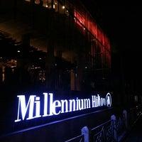 Photo taken at Millennium Hilton Bangkok by Sun H. on 7/26/2013