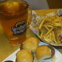 Photo taken at Sierra Madre Brewing Co. Pub by America P. on 10/12/2012