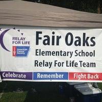 Photo taken at team Fair Oaks @ Cobb Relay For Life by Kyle E. on 5/17/2013