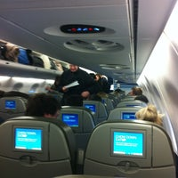 Photo taken at jetBlue Flight 690 by Thomas S. on 12/27/2012