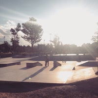 Photo taken at Skatepark by Franco R. on 4/4/2015
