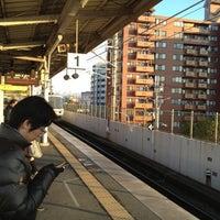 Photo taken at 丹波口駅 (Tambaguchi Sta.) by Hiroshi M. on 12/10/2012