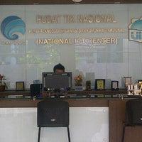Photo taken at Pusat Teknologi Informasi dan Komunikasi Nasional by Rizqi A. on 10/16/2012