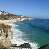 Photo taken at Thousand Steps Beach by anja k. on 6/22/2013