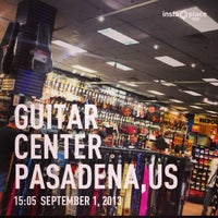 Photo taken at Guitar Center by Peacedelic S. on 9/1/2013
