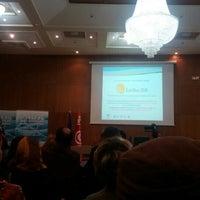 Photo taken at CEPEX by BOujĂ H. on 2/18/2016