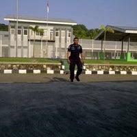 Photo taken at LAPAS Super Maximum Security Pasir Putih Nusakambangan by Assegaf A. on 6/8/2014