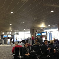 Photo taken at Gate A5 by Mitch M. on 12/17/2012