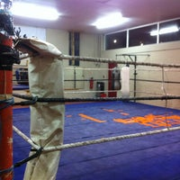 Photo taken at Haringey Police & Community Boxing Amateur Boxing Club by Pete N. on 2/15/2013