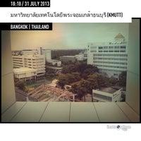 Photo taken at King Mongkut's University of Technology Thonburi (KMUTT) by Maythawut T. on 7/31/2013