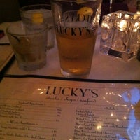 Photo taken at Lucky's Steakhouse by Johnny H. on 12/24/2012
