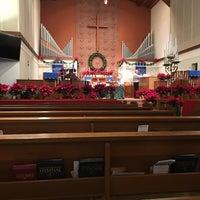 Photo taken at First United Methodist Church of Orange by Staci W. on 12/20/2015