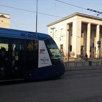 Photo taken at Fermata Tram - Stazione FS by Monica Hallouma M. on 3/22/2016