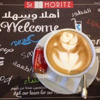 Photo taken at St Moritz Cafe by Lea R. on 3/18/2017