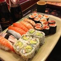 Photo taken at Yuka Japanese Restaurant by Jon M. on 5/6/2013