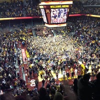 Photo taken at Williams Arena by Ross B. on 2/27/2013
