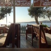 Photo taken at Hotel Paros Beach Cafe by Roman K. on 8/12/2013